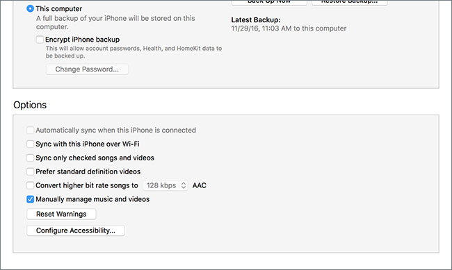 manually add songs to ipod