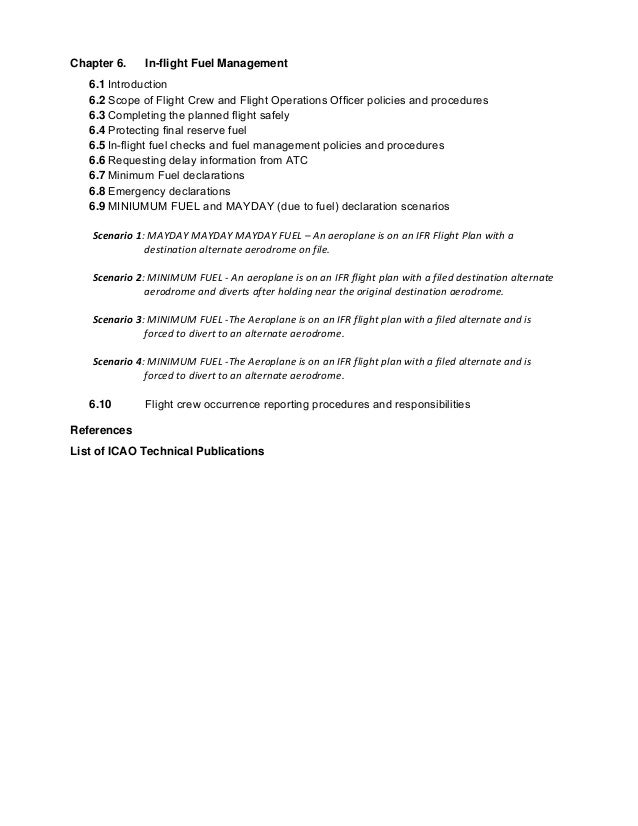 icao doc 9376 preparation of an operations manual