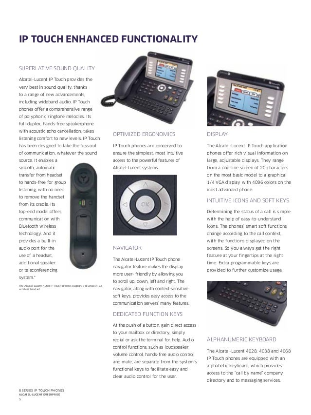 alcatel lucent ip touch 4008 manual